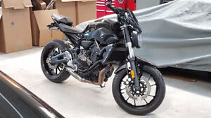 FZ 07 showroom condition with performance modifications