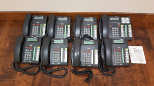 COMPLETE 7 + 1 NORTEL BUSINESS PHONE SYSTEM