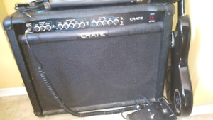 120w Amp with pedal $100