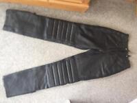 Motorcycle bike trousers ladies size 10