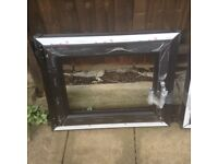 BLACK UPVC WINDOW FRAMES