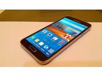 SAMSUNG S5 UNLOCKED GERY BRAND NEEW CINDTION PRICE 100