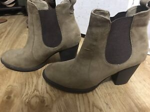 Tan coloured Ankle Boots