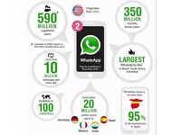 GET your companys WATSAPP Business Page