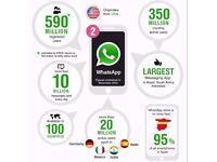 WatsApp Marketing For Business/Increase Sales/Customer Service/Direct Communication