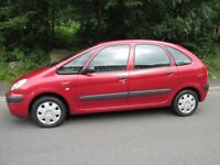 citroen xsara picasso 2004 low miles. long mot.