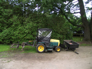 22Hp. Lawn Tractor with accessories