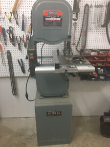 """King Industrial 14"""" 3-Speed Bandsaw"""