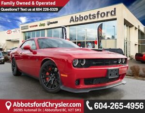 2016 Dodge Challenger SRT Hellcat 707HP w/ 6-speed Manual TRE...