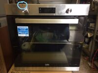 Beko Oven, Brand new slight dent on control panel, shown in pictures.