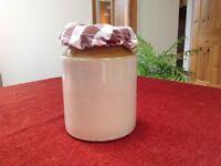 Vintage Earthenware Storage Jar