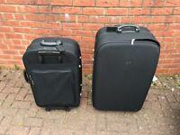 2 Suitcases - 1 x large & 1 medium
