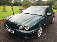 Jaguar X-type Diesel Saloon Manual in Green 2004 99,800 Miles