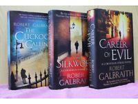 Cormoran Strike Trilogy - J K Rowling