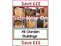 Garden Sheds ALL SIZES (Free installation and Delivery) BEST PRICES>GREAT QUALITY