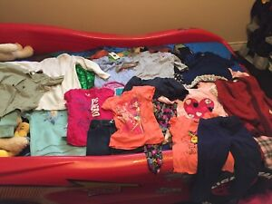 Large bag of girls clothes-size 4-5T
