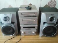 TECHNICS SE-HD350 MIDI STACKING STEREO SYSTEM
