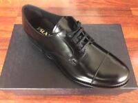 PRADA black formal shoes / men's
