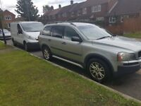 2004 54 VOLVO XC90 D5 SE 6 SPEED MANUAL GEAR BOX 11 MONTHS MOT 7 SEATER BRILLIANT CONDITION GREAT