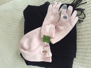 Kate Spade Mittens and Touque
