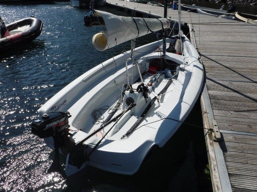 Laser Stratos Keel Boat Dinghy In Kirknewton West