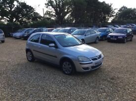 2005 Vauxhall Corsa 1.2 SXI 6 Months MOT Service History Cheap Car