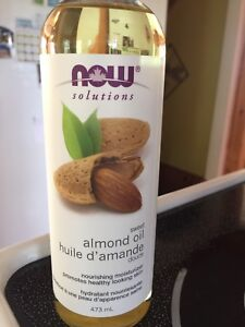 Sweet almond oil and Shea Butter