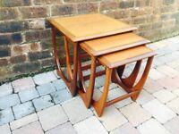 Mid Century Teak G Plan Nest Of Tables