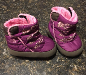 North face infant booties