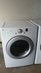 LG Front-load Washer and Dryer Set
