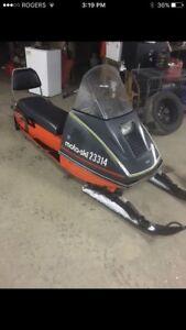 1973 moto ski Capri 440
