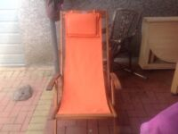 Deck chair like new immaculate condition