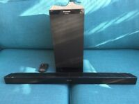 Panasonic Sound Bar with Sub woofer / EXCELLENT CONDITION / REMOTE CONTROL
