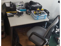 Computer Desk with Office Chair
