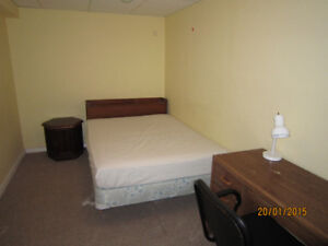 basement room for rent---male student only