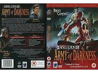 Army Darkness Rare Dvd Mint Condition