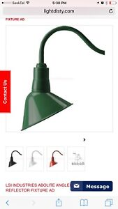 LSI INDUSTRIES ABOLITE ANGLED REFLECTOR LIGHT  FIXTURE