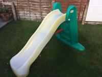 Little tikes large easystore slide
