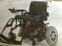 Rosa Marbella motorised wheelchair for sale. Needs new battery as not been used.