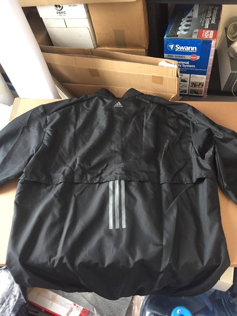 Adidas running water proof jacket x lin Temple Meads, BristolGumtree - Adidas black water proof running jacket size XL brand new still has tags on and original packing selling due to delivers wrong size original price £35