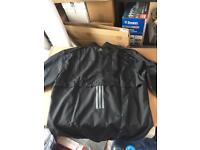 Adidas running water proof jacket x l