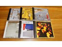 Various Genesis cd's