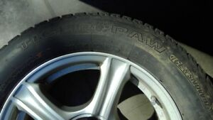 Buick Encore alloy rims with snow tires