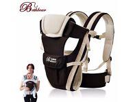 Brand New Newborn Infant Baby Girls Carrier Breathable Ergonomic Adjustable Wrap Sling