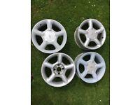 ford cosworth alloy wheels Fiesta escort