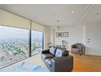 Wonderful pent house 2 bedroom 2 bathroom apartment with car parking in Zone 1 SE1.