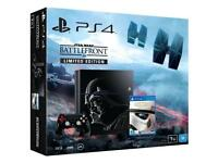 Limited edition Star Wars ps4 bundle.