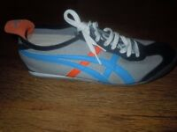 MENS ASICS ONITSUKA TIGER CANVAS SHOES TRAINERS