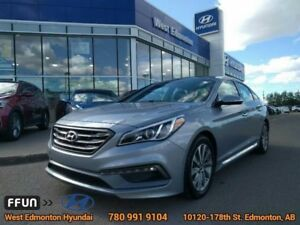 2016 Hyundai Sonata Sport Tech  leather heated steering wheel na