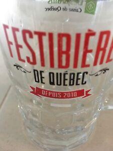 Verre de Festibière Québec 2017